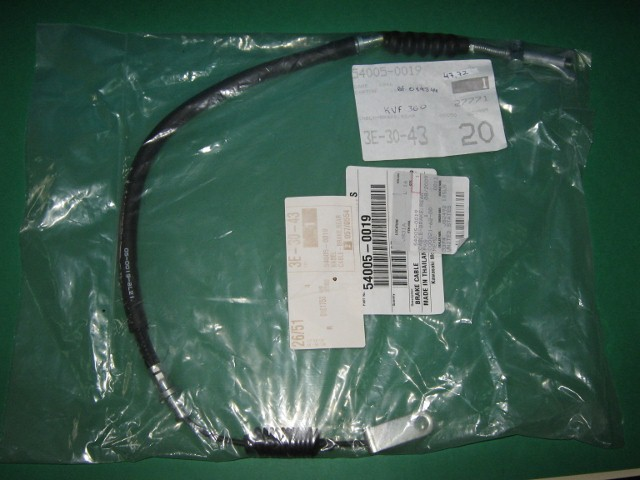 Cable Brake Rear KVF360